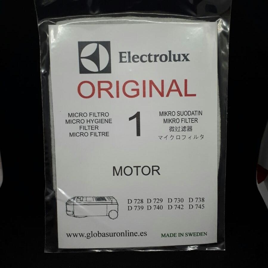 Filtro exterior aspirador Lux D 740
